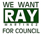 Ray for Council Logo